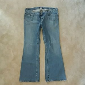 Gap outlet maternity jeans 14